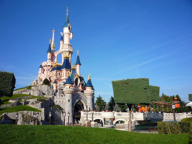 chateau belel au bois dormant du parc disneyland paris