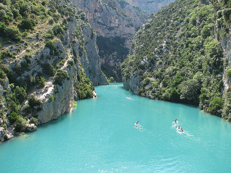 Les gorges du Verdon, un magnifique canyon